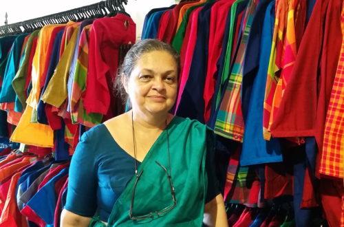 Article : Sandra Wanduragala, tisseuse d'humanité au Sri Lanka