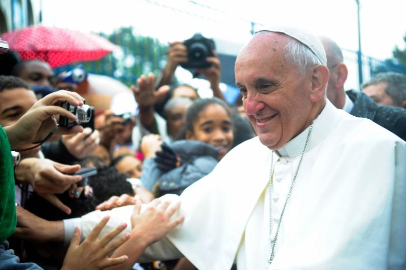 Le pape François durant les Journées Mondiales de la Jeunesse au Brésil (Vargihna)