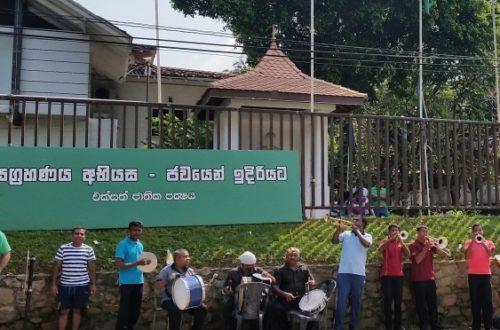 Article : Sri Lanka : et le président Mahinda quitta paisiblement Temple Tree*…