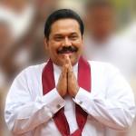 Mahinda Rajapaksa, le président sortant.