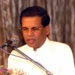 Maithripala Sirisena, nouveau président du Sri Lanka