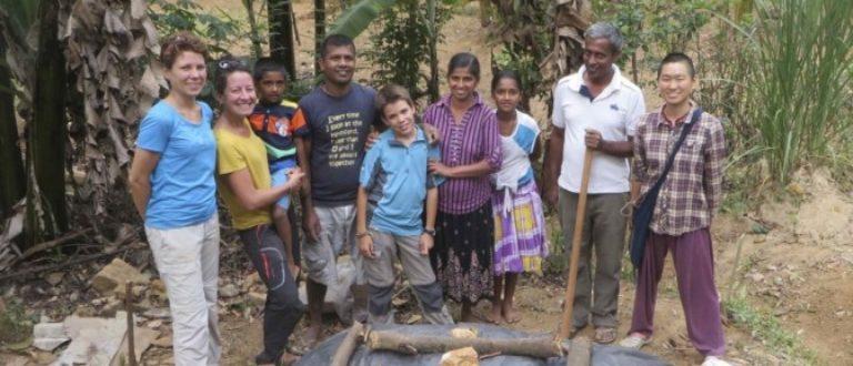 Article : Le compost en tas, dans le jardin de Pradeepa